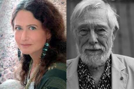 Jane Hirshfeild and Gary Snyder